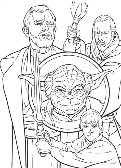 Luke Skywalker Coloring Pages - Best Coloring Pages For Kids