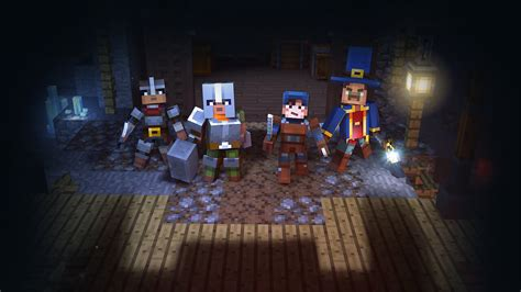 MINECRAFT DUNGEONS Builds Excitement With a New Trailer at