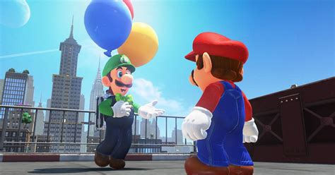 Super Mario Odyssey's first DLC is now available — time
