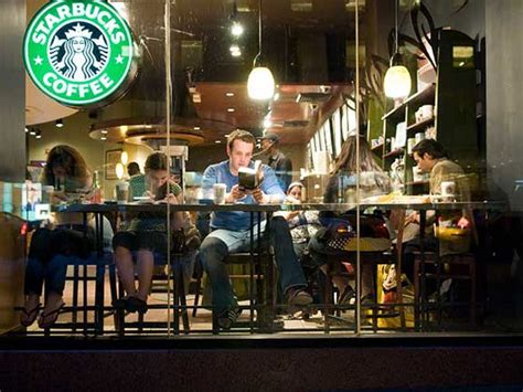 Starbucks Will Let People Sit Inside Stores And Use