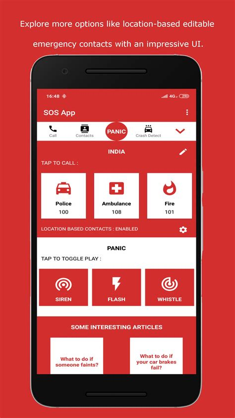SOS App for Android - APK Download