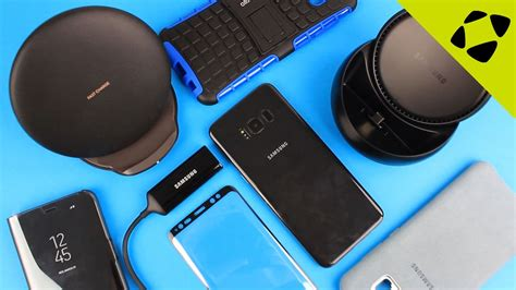Top 5 Samsung Galaxy S8 / S8 Plus Accessories - YouTube