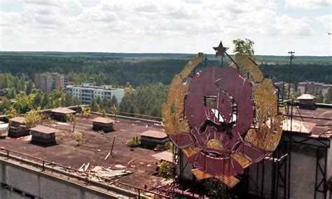 Drone Explores Chernobyl Ruins For The First Time Ever