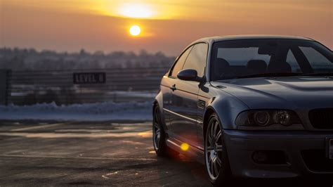 sunset, Cars, Bmw, E46, M3 Wallpapers HD / Desktop and