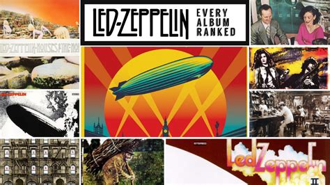 Led Zeppelin Albums Ranked From Worst To Best – The