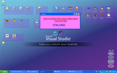 HOW TO OPEN HTML FILE USING VB6 | Free source code