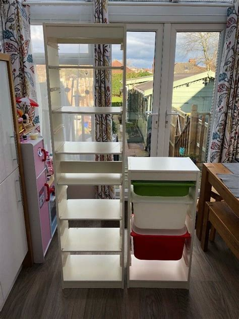 Ikea Trofast storage unit in White (tall one shown in