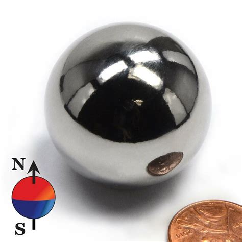 1 Inch Neodymium Rare Earth Sphere Magnets N50 Strong