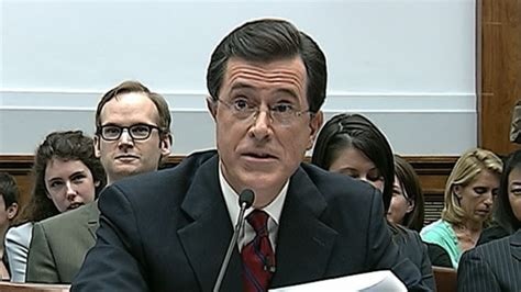 Stephen Colbert Takes On Congress, Ironically Argues for