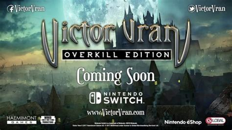 Victor Vran: Overkill Edition heading to Switch this