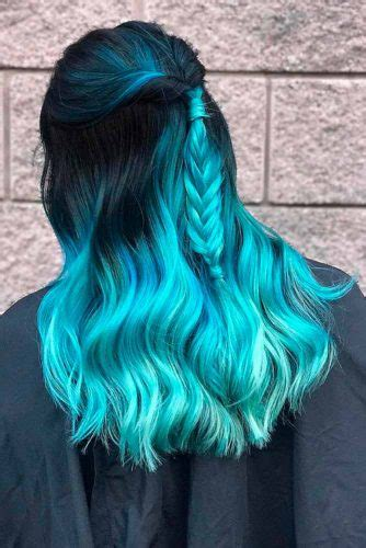 21 BLUE OMBRE HAIR STYLES FOR DARING WOMEN - My Stylish Zoo