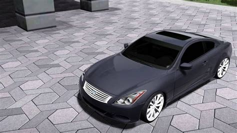 INFINITI G37S COUPE 2008 - CCD Cars - City Car Driving