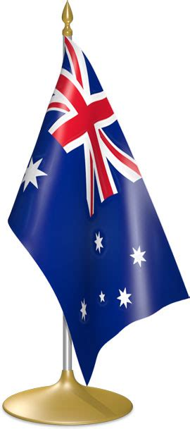 Flag Icons of Australia   3D Flags - Animated waving flags