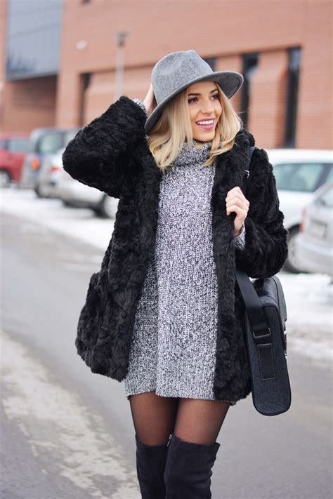 Sweater Dress Outfits: Cool Ways To Wear The Sweater Dress