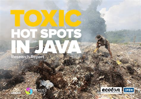 (PDF) Toxic Hot Spots in Java and Persistent Organic