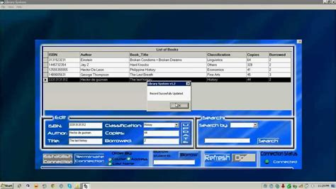 Visual Basic 6 - Library System (Download Link at the