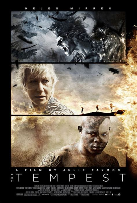 Movie Poster and Images from Julie Taymor's THE TEMPEST