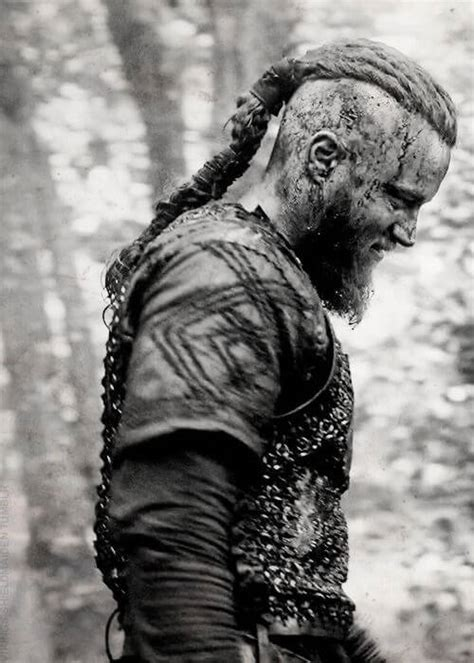 Ragnar Lothbrok's Hairstyle from Vikings